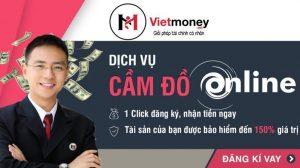 Thủ tục dịch vụ cầm đồ online của VietMoney chỉ mất 15 – 20 phút