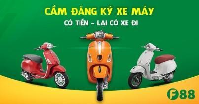 Hướng dẫn cách vay tiền bằng đăng ký xe máy với F88