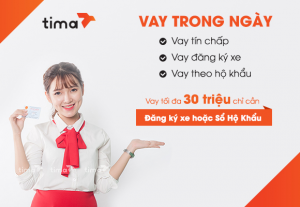 Vay tín chấp online bằng lương tại Tima đem lại nhiều lợi ích cho chúng ta