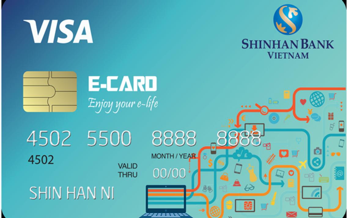 Thẻ tín dụng Shinhan Bank của khách hàng