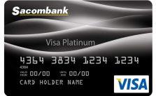 Thẻ Visa Platinum – Một trong những thẻ tín dụng có hạn mức tín dụng hấp dẫn